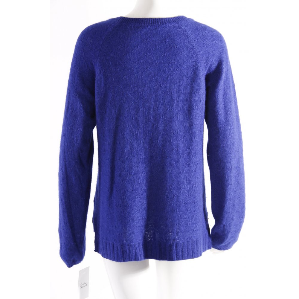 h m strickpullover blau damen gr de 36 pullover sweater knitted sweater ebay. Black Bedroom Furniture Sets. Home Design Ideas
