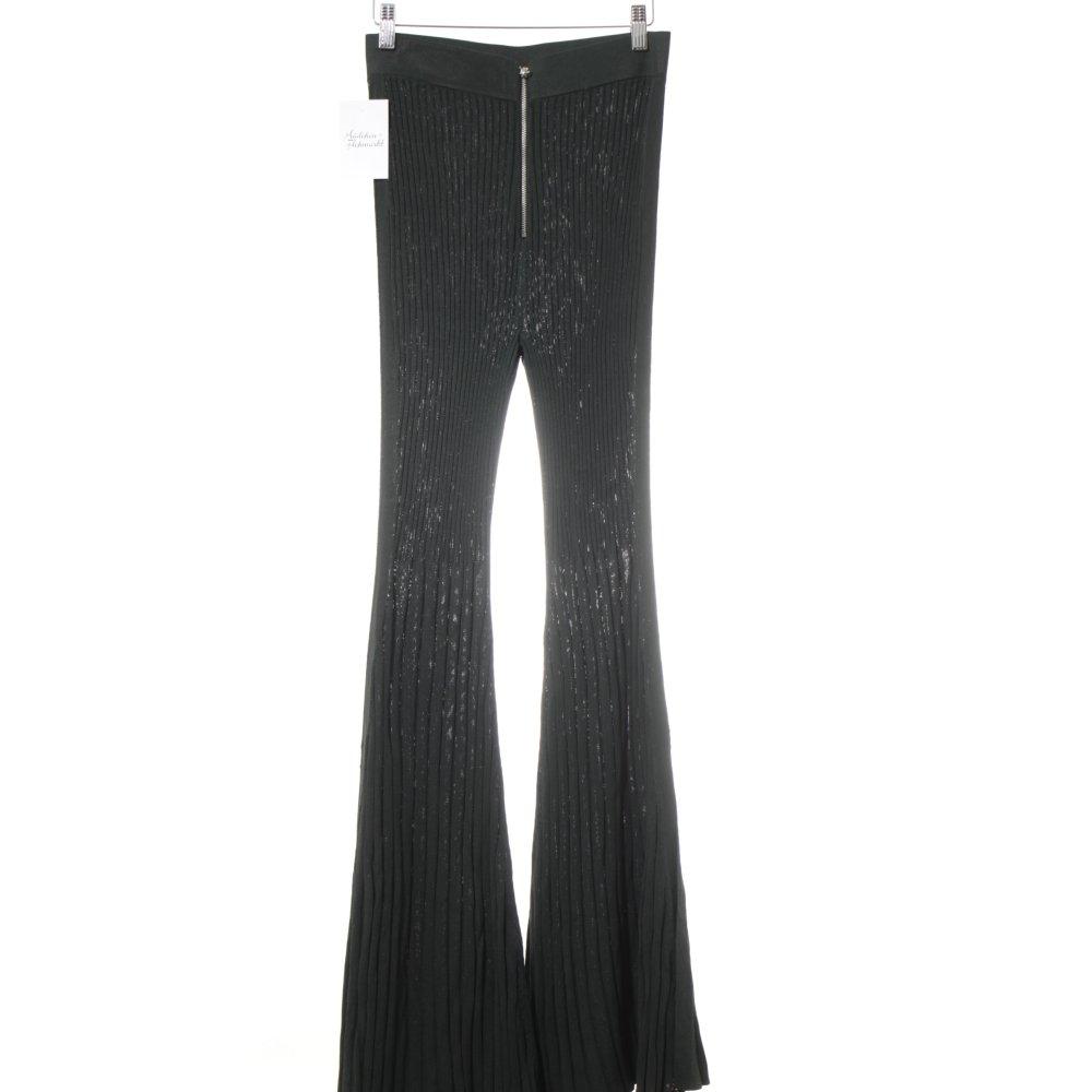 negozio ufficiale la migliore vendita cerca autentico Dettagli su H&M STUDIO Pantalone a zampa d'elefante verde scuro stile  stravagante Donna