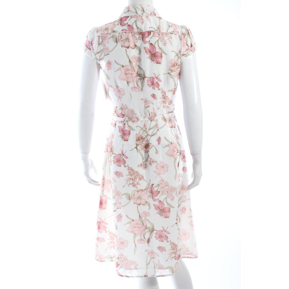 hallhuber blusenkleid mehrfarbig damen gr de 36 wei kleid dress blouse dress ebay. Black Bedroom Furniture Sets. Home Design Ideas
