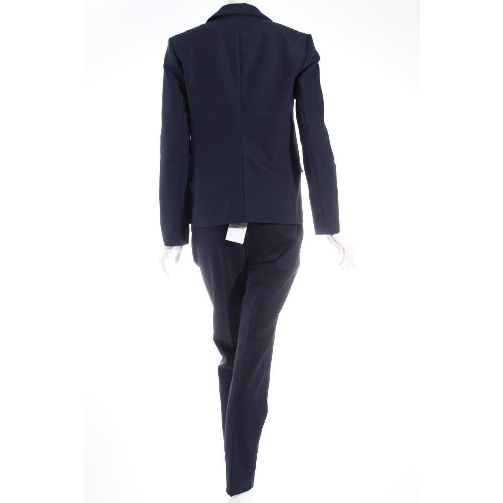 hallhuber business anzug dunkelblau business look damen gr de 38 suit ebay. Black Bedroom Furniture Sets. Home Design Ideas