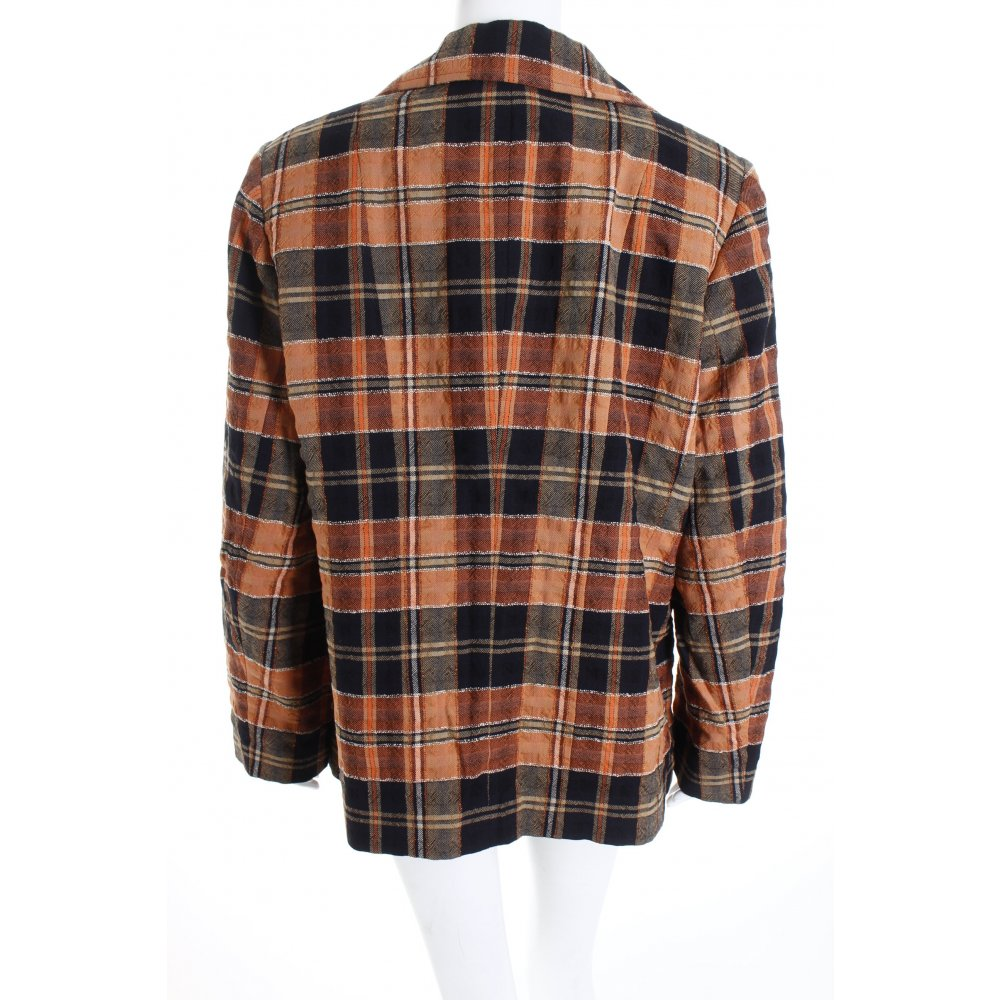 Hammer blazer en laine motif carreaux style r tro dames for Ka che vintage look