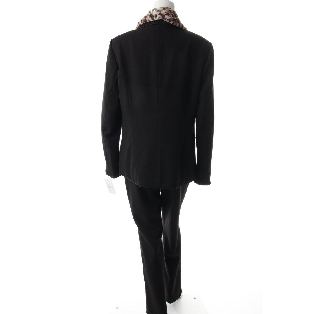 helena vera kost m schwarz business look damen gr de 40 anzug suit ebay. Black Bedroom Furniture Sets. Home Design Ideas