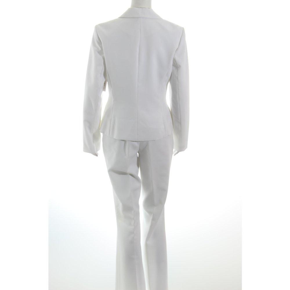 helline hosenanzug wei business look damen gr de 36 wei anzug suit ebay. Black Bedroom Furniture Sets. Home Design Ideas
