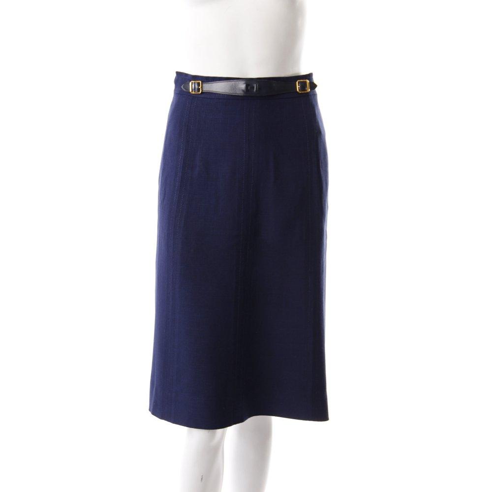 herm s midirock vintage blau damen gr de 34 rock skirt. Black Bedroom Furniture Sets. Home Design Ideas