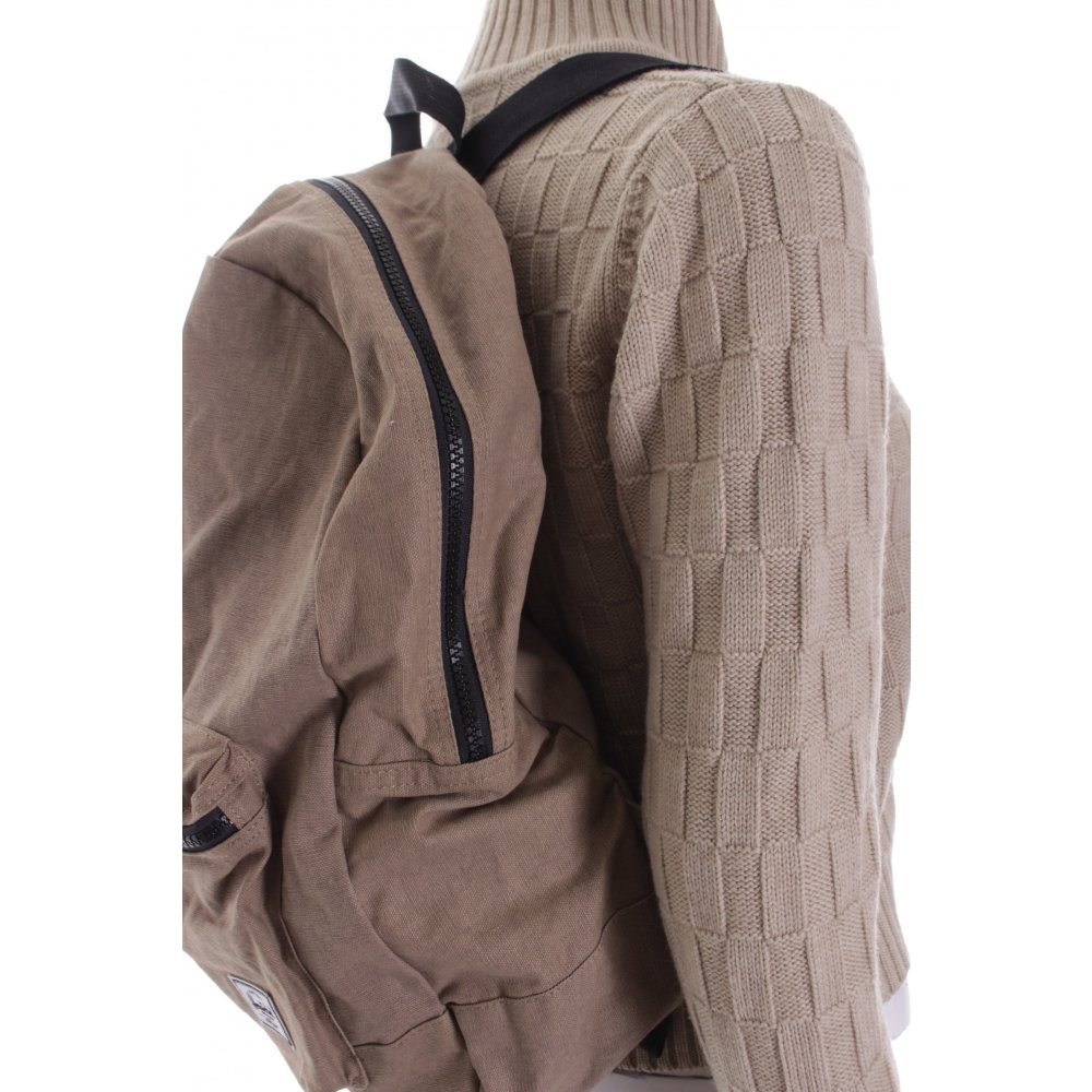 herschel rucksack beige schlichter stil damen tasche bag baumwolle backpack ebay. Black Bedroom Furniture Sets. Home Design Ideas