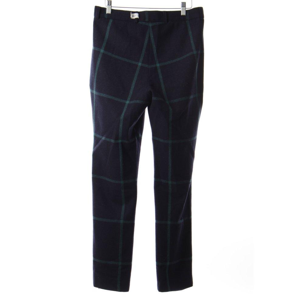 hien le pantalon en laine bleu fonc vert motif carreaux. Black Bedroom Furniture Sets. Home Design Ideas