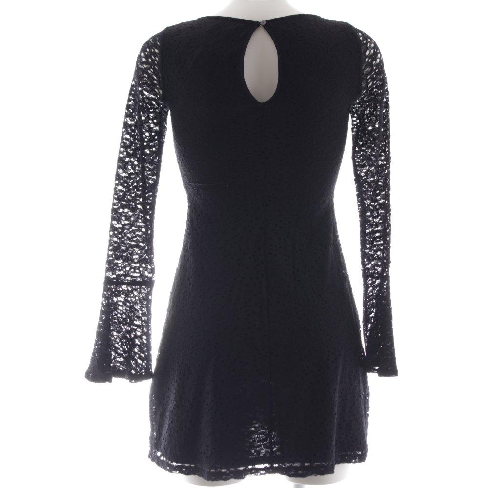 Vestiti Eleganti Hollister.Hollister Abito In Pizzo Nero Elegante Donna Taglia It 38 Ebay