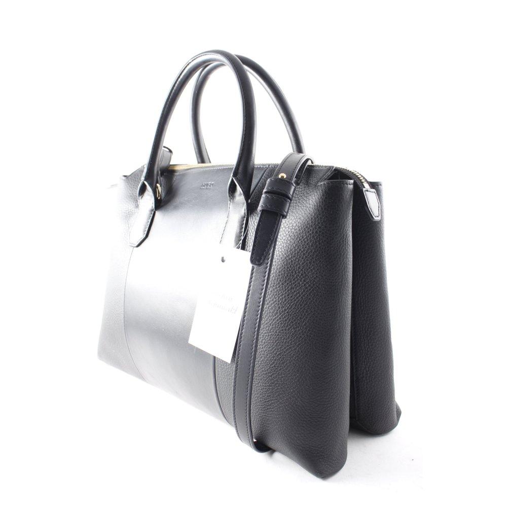 hugo boss handtasche schwarz eleganz look damen tasche bag. Black Bedroom Furniture Sets. Home Design Ideas