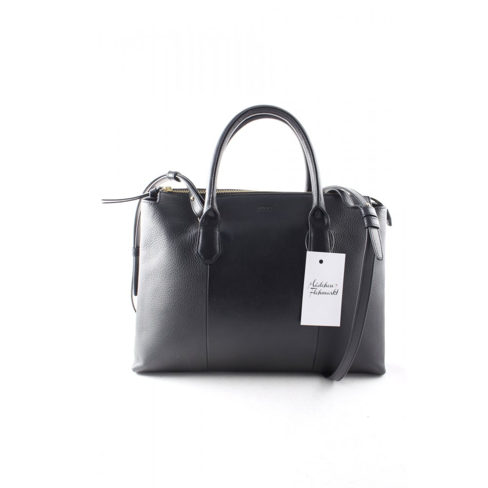 hugo boss handtasche schwarz eleganz look damen tasche bag. Black Bedroom Furniture Sets. Home Design Ideas