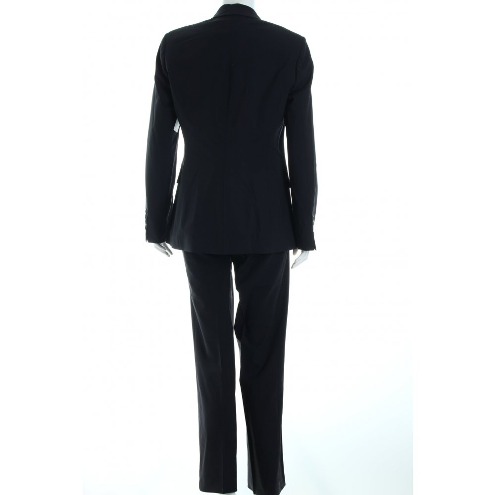 hugo boss hosenanzug schwarz business look damen gr de 38 anzug suit ebay. Black Bedroom Furniture Sets. Home Design Ideas