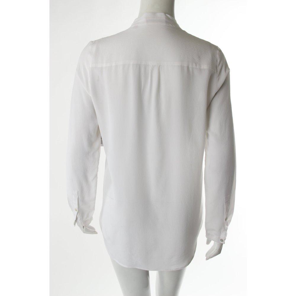 hugo boss langarm bluse wei damen gr de 36 wei blouse. Black Bedroom Furniture Sets. Home Design Ideas