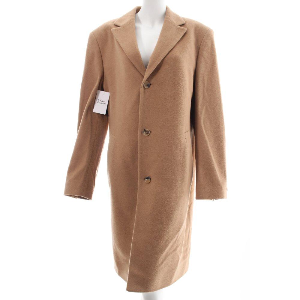 hugo boss coat camel elegant women s size uk 14 ebay. Black Bedroom Furniture Sets. Home Design Ideas