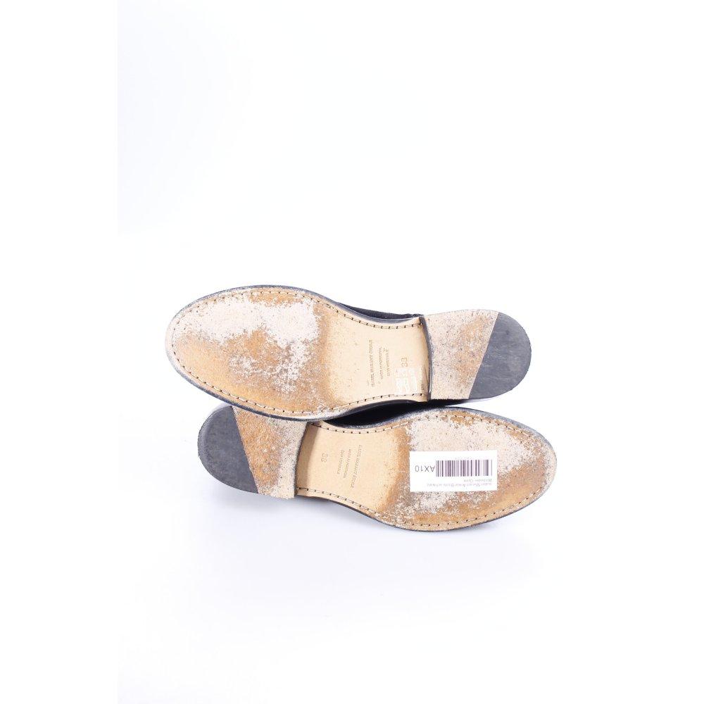 isabel marant ankle boots schwarz wildleder optik damen gr de 38 leder ebay. Black Bedroom Furniture Sets. Home Design Ideas