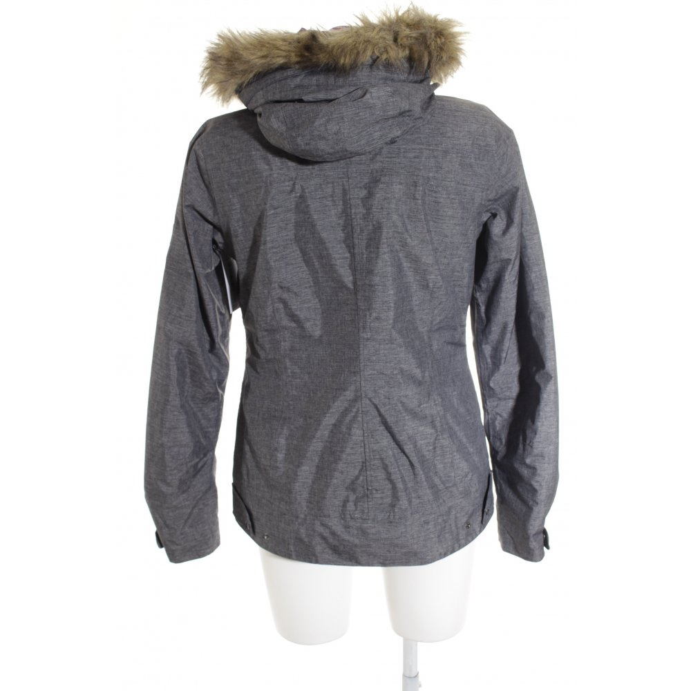 jack wolfskin winterjacke grau casual look damen gr de 36. Black Bedroom Furniture Sets. Home Design Ideas