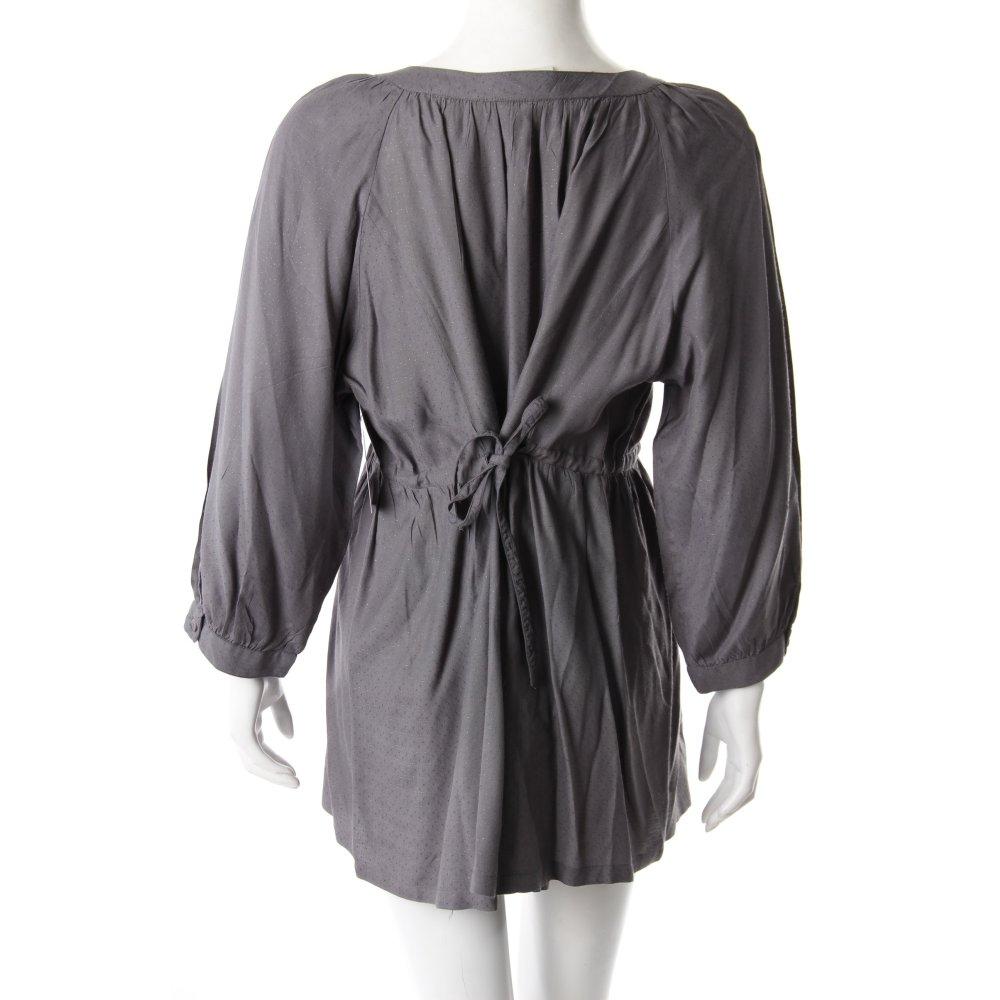 jackpot long bluse grau damen gr de 40 blouse long blouse. Black Bedroom Furniture Sets. Home Design Ideas