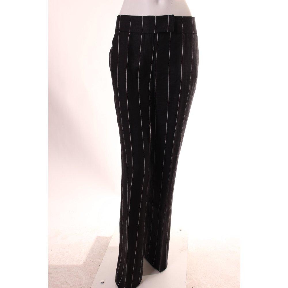 JAKE*S Tailleur-pantalon noir-blanc motif rayé style d ...
