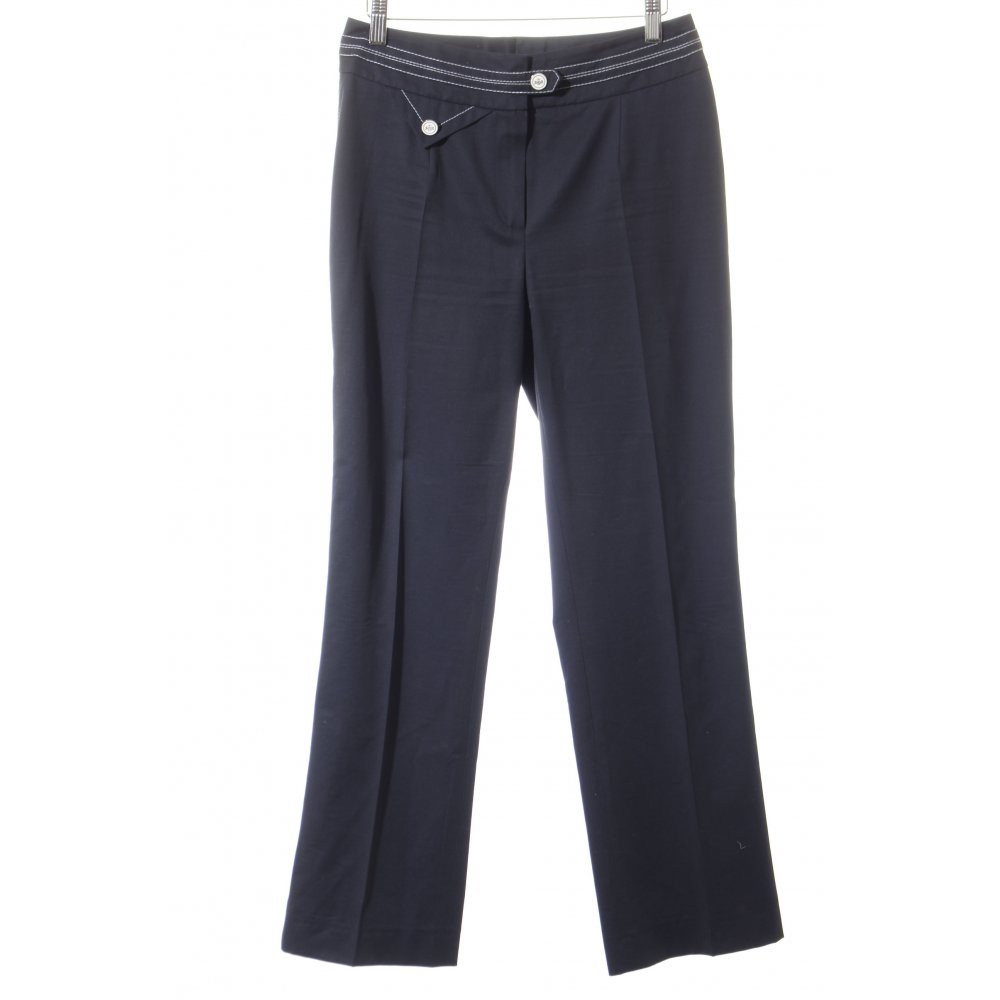 joop high waist trousers white black elegant women s size uk 8 ebay. Black Bedroom Furniture Sets. Home Design Ideas