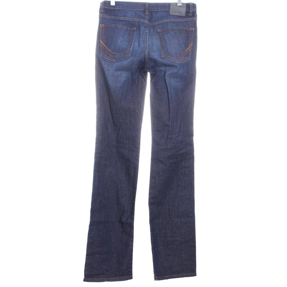 joop straight leg jeans rena dunkelblau damen gr de 36. Black Bedroom Furniture Sets. Home Design Ideas