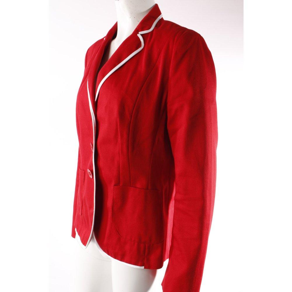 joseph janard blazer rot damen gr de 40 baumwolle ebay. Black Bedroom Furniture Sets. Home Design Ideas