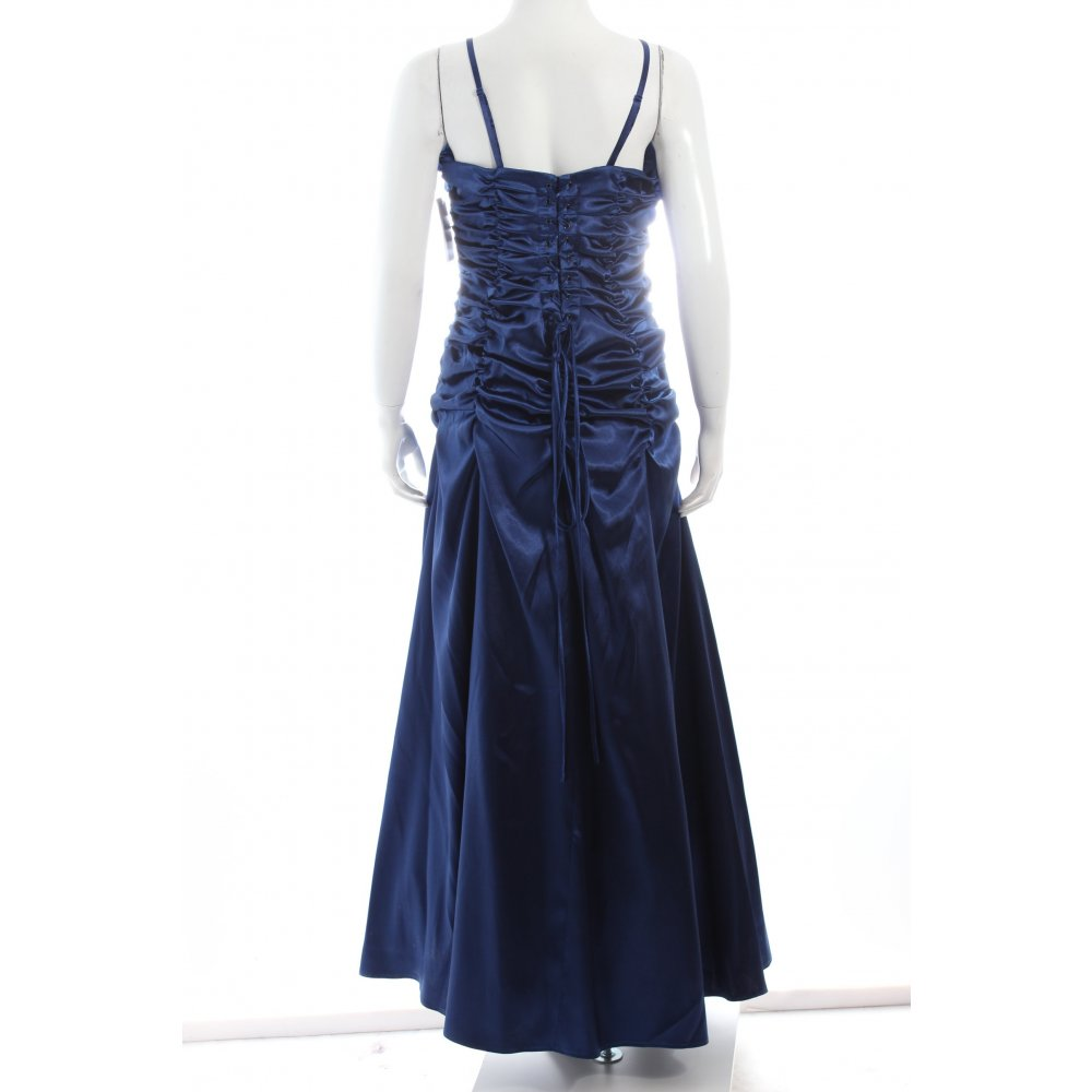 juju christine abendkleid blau elegant damen gr de 38 kleid dress ebay. Black Bedroom Furniture Sets. Home Design Ideas