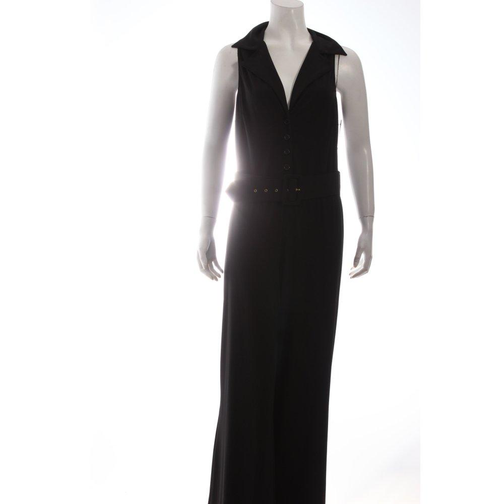 Jumpsuit schwarz klassischer stil damen gr de 36 hose for Klassischer stil