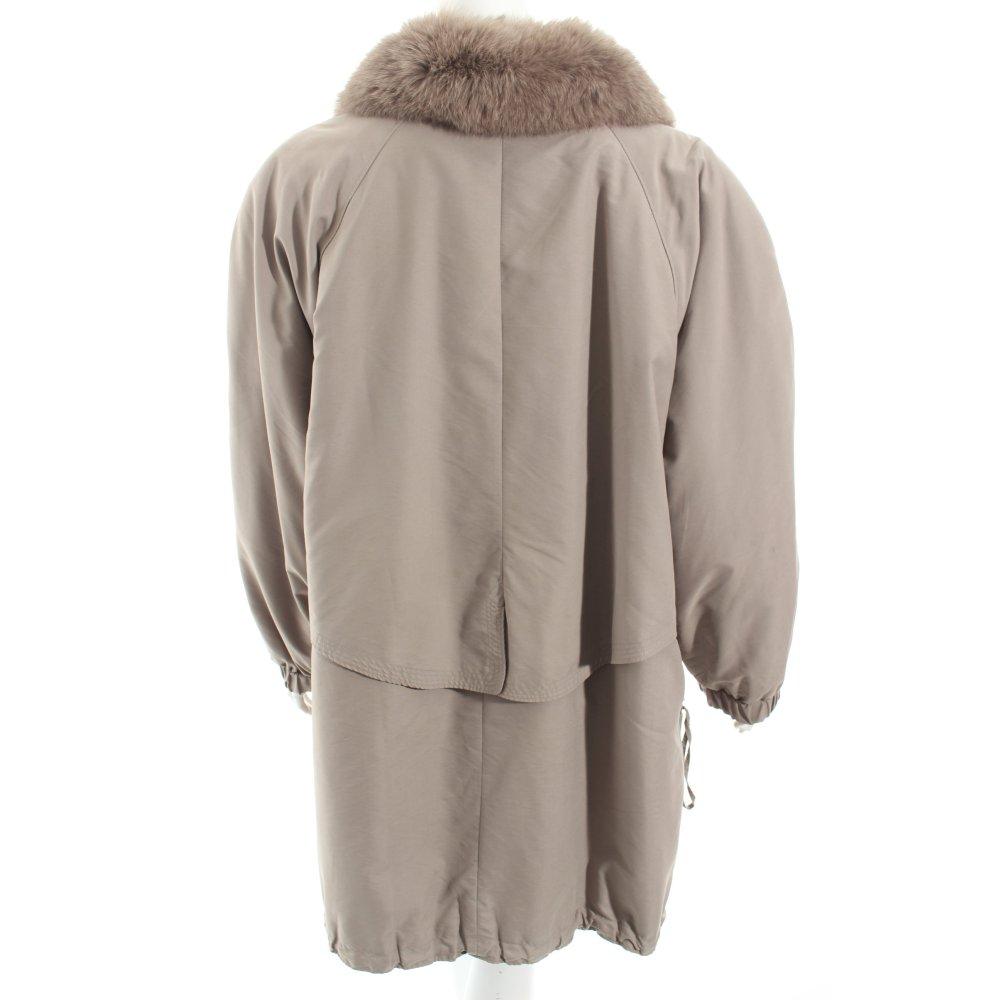 k rner mantel grau schlichter stil damen gr de 52 coat ebay. Black Bedroom Furniture Sets. Home Design Ideas