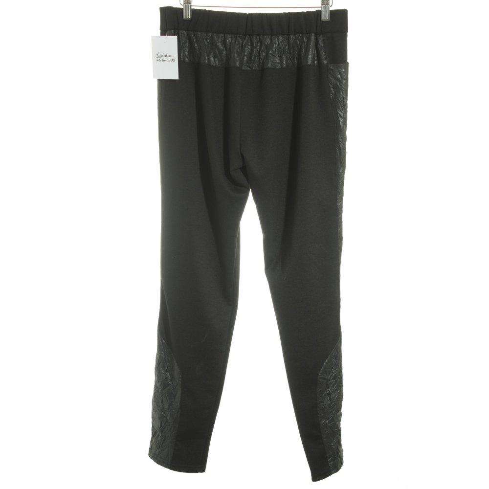 kamuflage stoffhose schwarz damen gr de 38 hose trousers. Black Bedroom Furniture Sets. Home Design Ideas