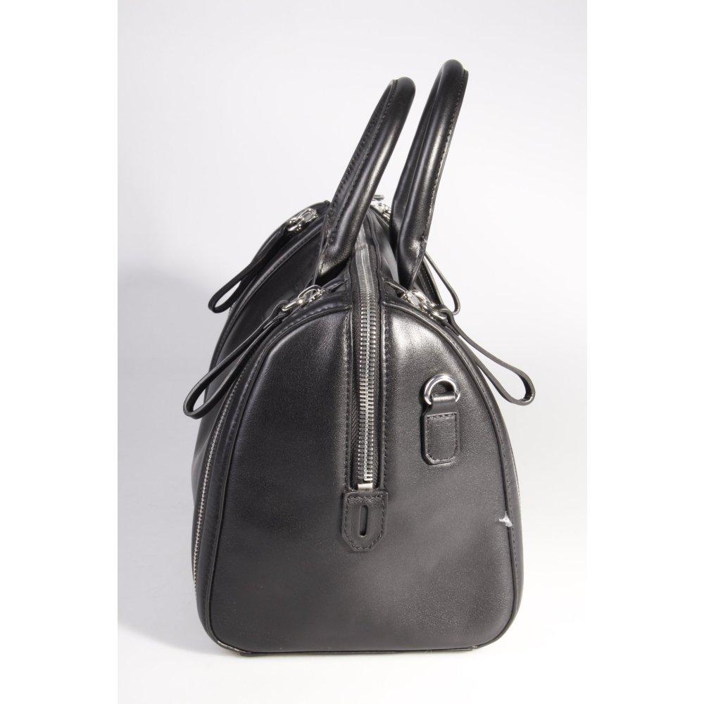 karl lagerfeld handtasche karl zip medium bauletto black iii damen schwarz bag ebay. Black Bedroom Furniture Sets. Home Design Ideas