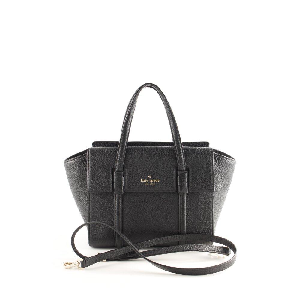 "99124847e6f26 KATE SPADE Shopper ""Small Abigail Satchel Bag Black"" schwarz Damen ..."