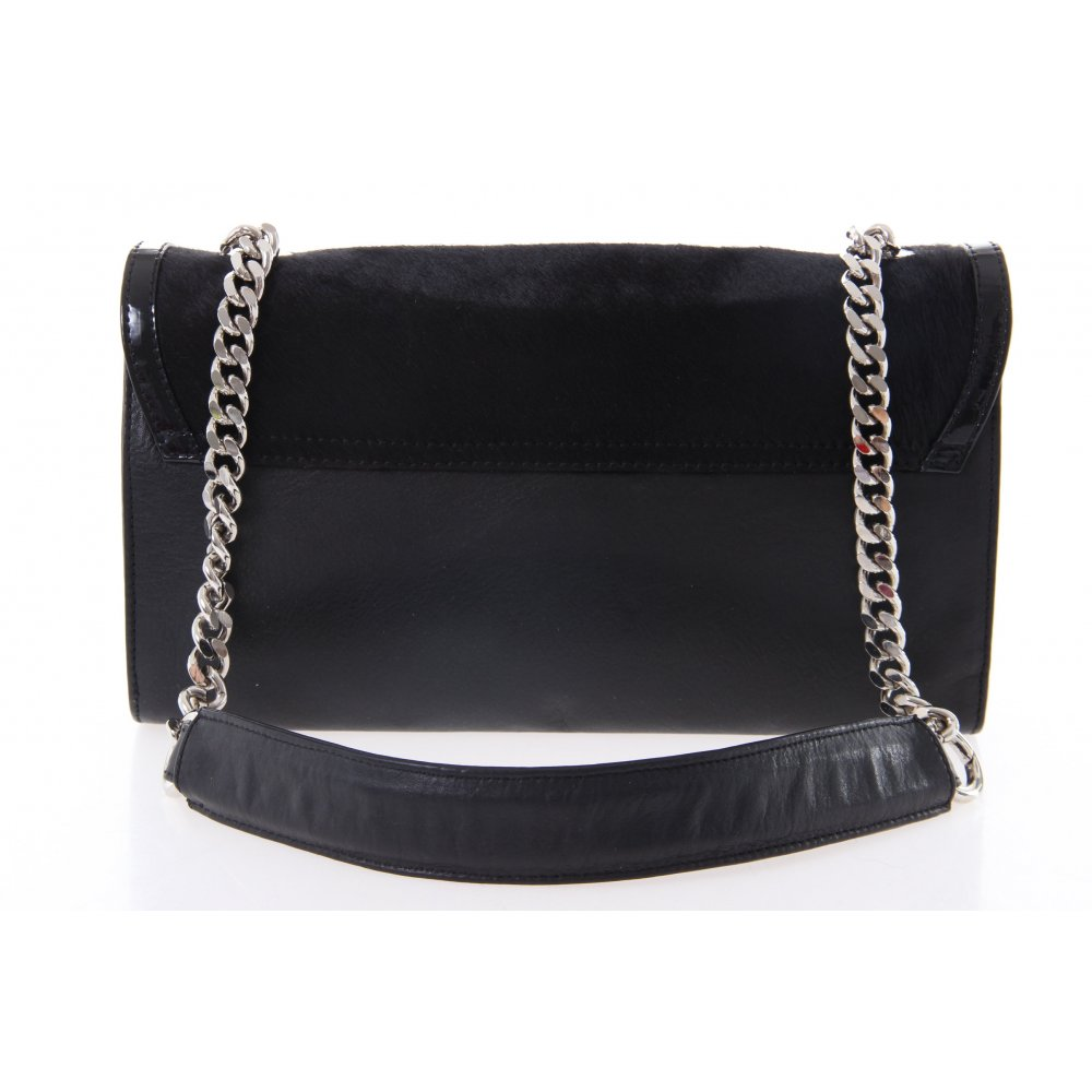 kaviar gauche schultertasche schwarz damen tasche bag shoulder bag ebay. Black Bedroom Furniture Sets. Home Design Ideas