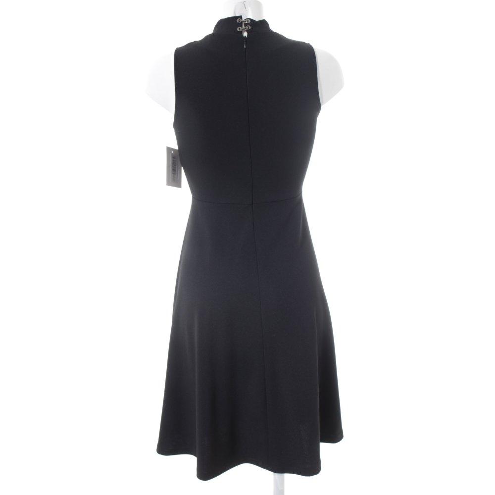 da0dd36793c9ba KING KONG A-Linien Kleid schwarz Business-Look Damen Gr. DE 36 Dress ...