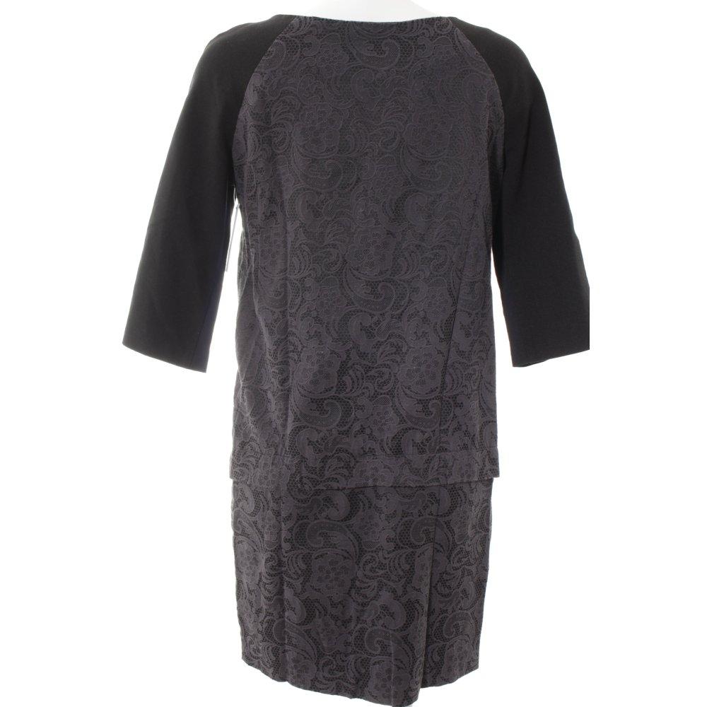 Kookai etuikleid schwarz graublau klassischer stil damen for Klassischer stil