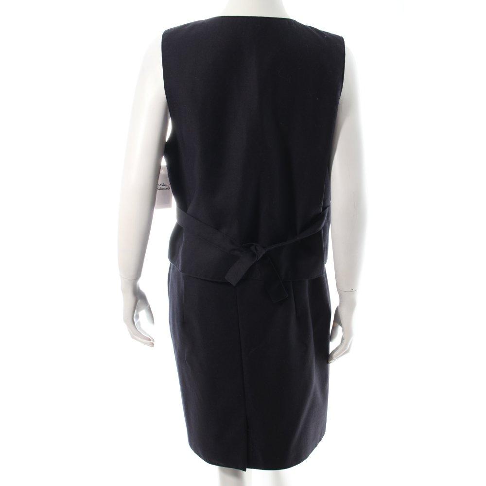 kost m dunkelblau business look damen gr de 38 anzug suit. Black Bedroom Furniture Sets. Home Design Ideas