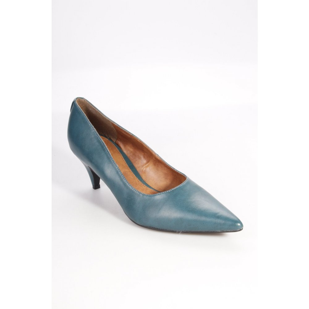 laura scott pumps petrol damen gr de 40 schuhe shoes. Black Bedroom Furniture Sets. Home Design Ideas