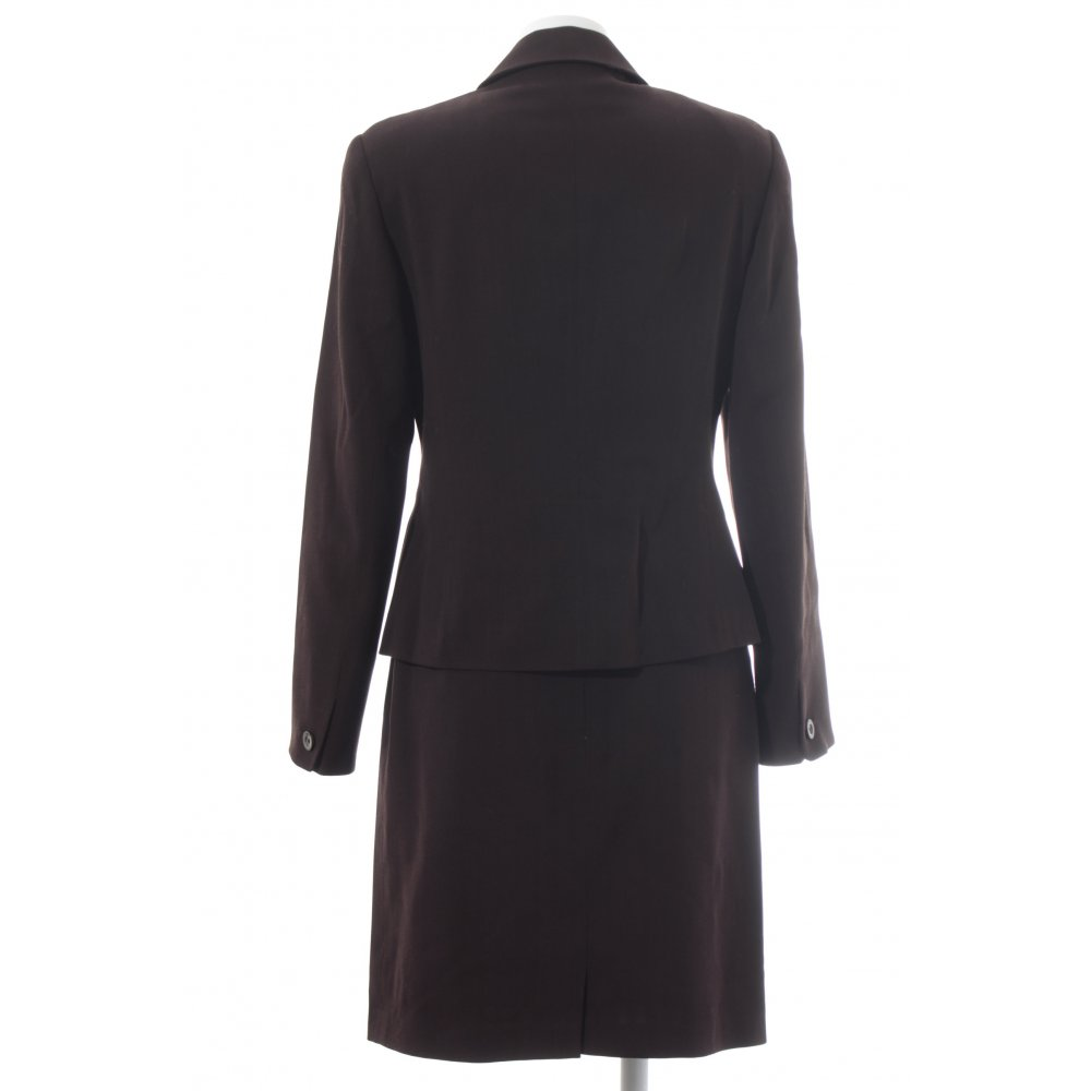laur l kost m braun elegant damen gr de 38 anzug suit. Black Bedroom Furniture Sets. Home Design Ideas