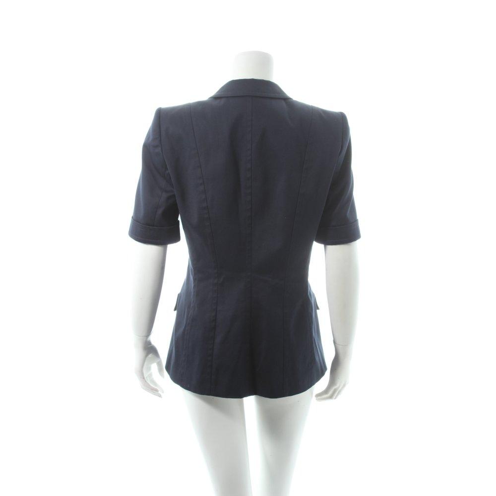 laurenza blazer dunkelblau marine look damen gr de 38. Black Bedroom Furniture Sets. Home Design Ideas