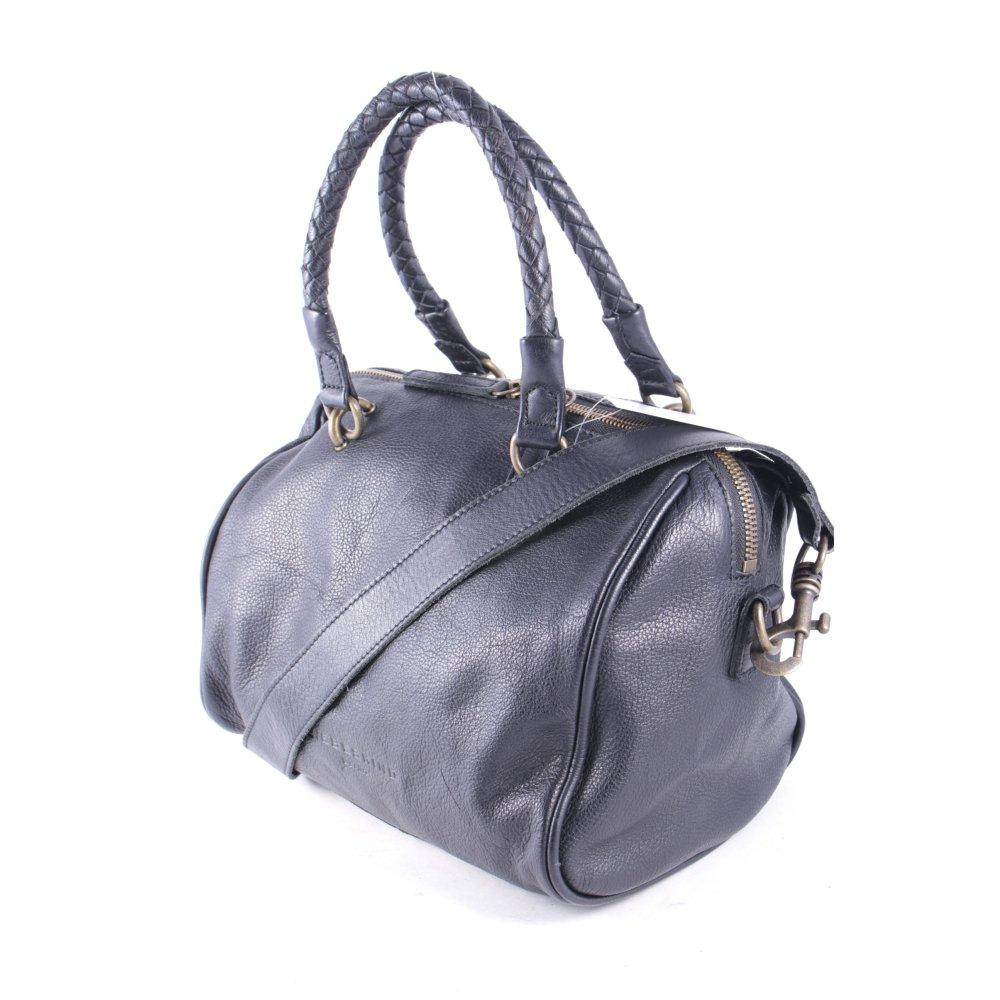 liebeskind berlin handtasche dunkelblau schlichter stil. Black Bedroom Furniture Sets. Home Design Ideas