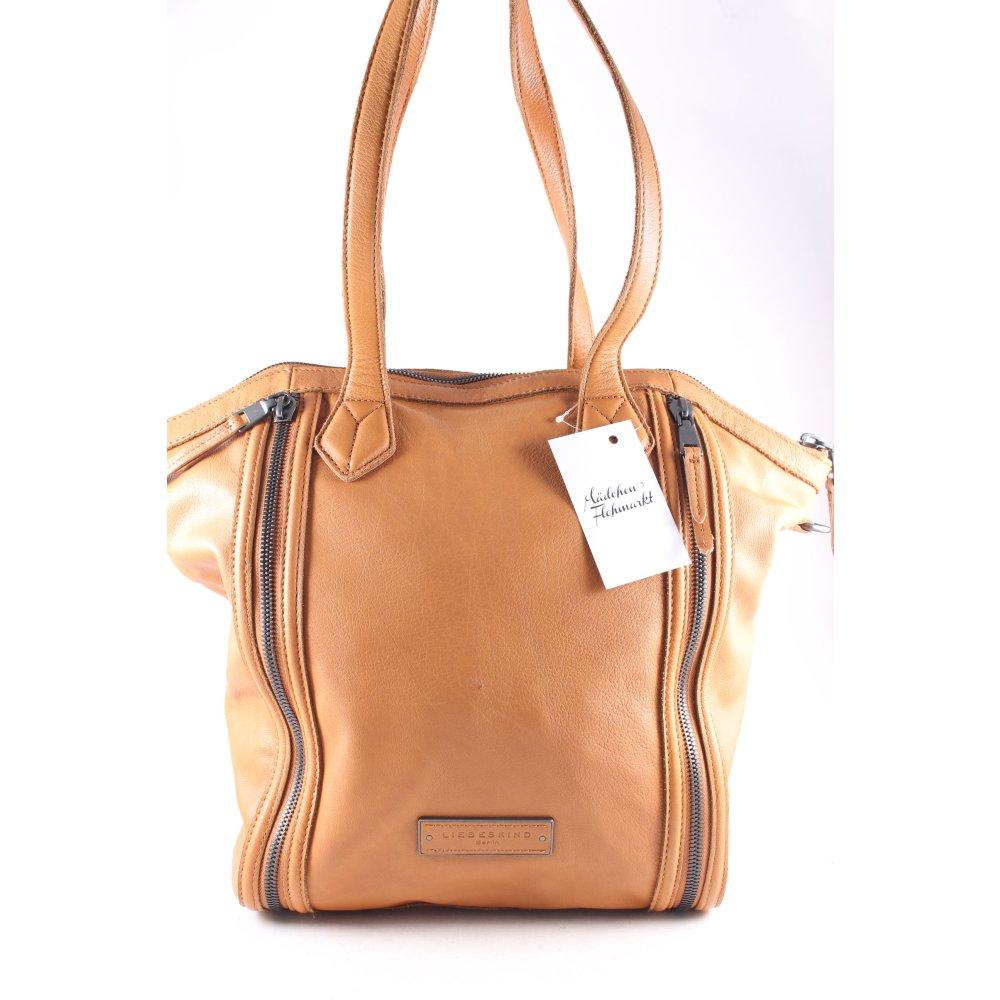 liebeskind handtasche marsha cognac damen tasche bag. Black Bedroom Furniture Sets. Home Design Ideas