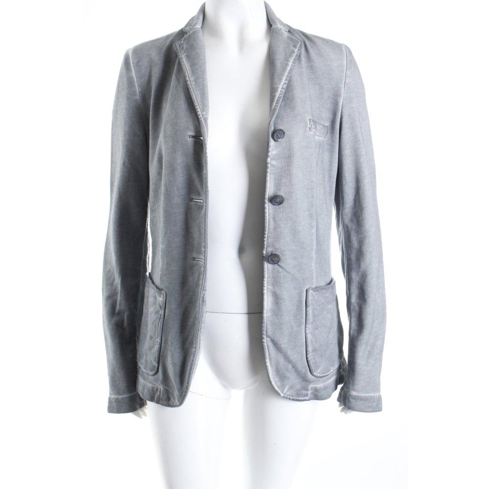 liebeskind jerseyblazer grau blassblau washed optik damen gr de 38 blazer ebay. Black Bedroom Furniture Sets. Home Design Ideas
