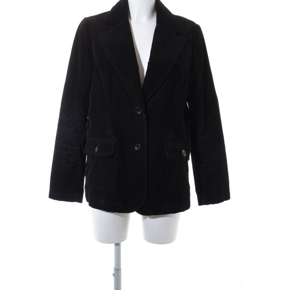 Lindex kurz blazer schwarz klassischer stil damen gr de for Klassischer stil