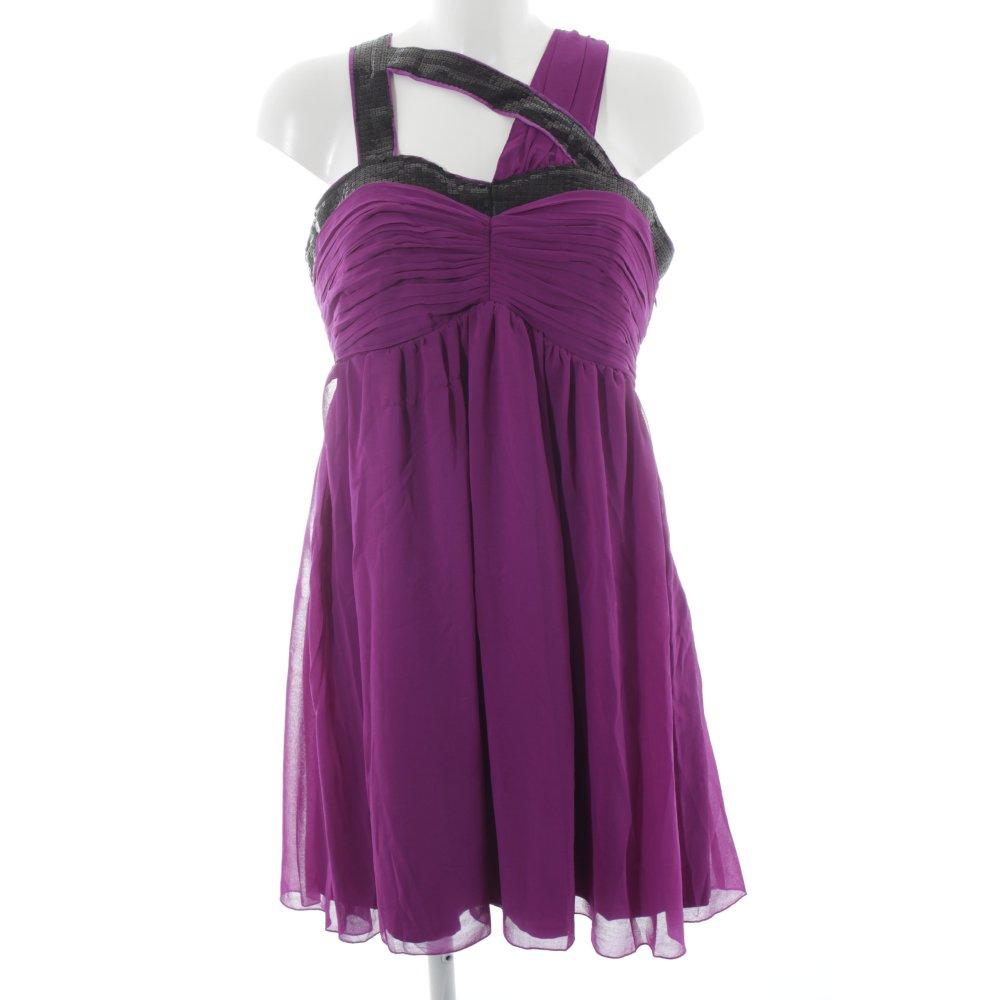 LIPSY Vestido de cóctel lila-negro elegante Mujeres Talla EU 38   eBay
