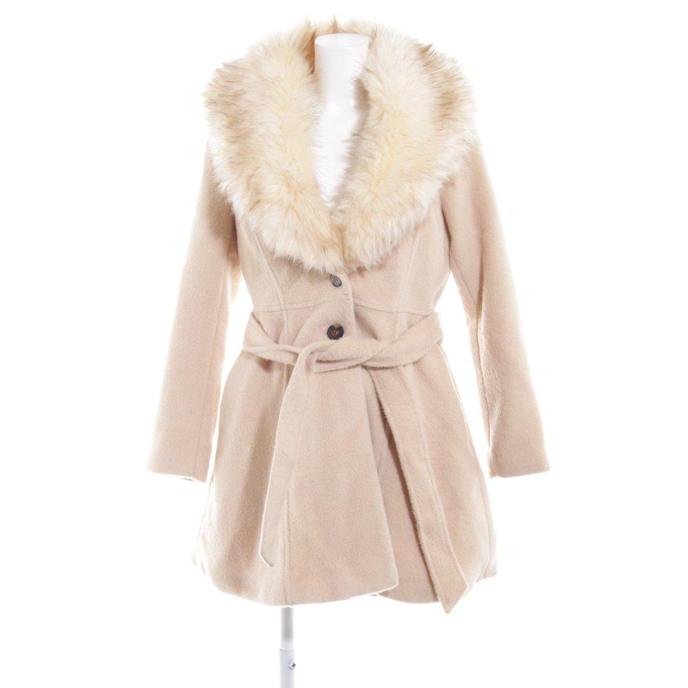 schönen Glanz exquisiter Stil Offizielle Website LIPSY Kurzmantel creme extravaganter Stil Damen Gr. DE 38 ...