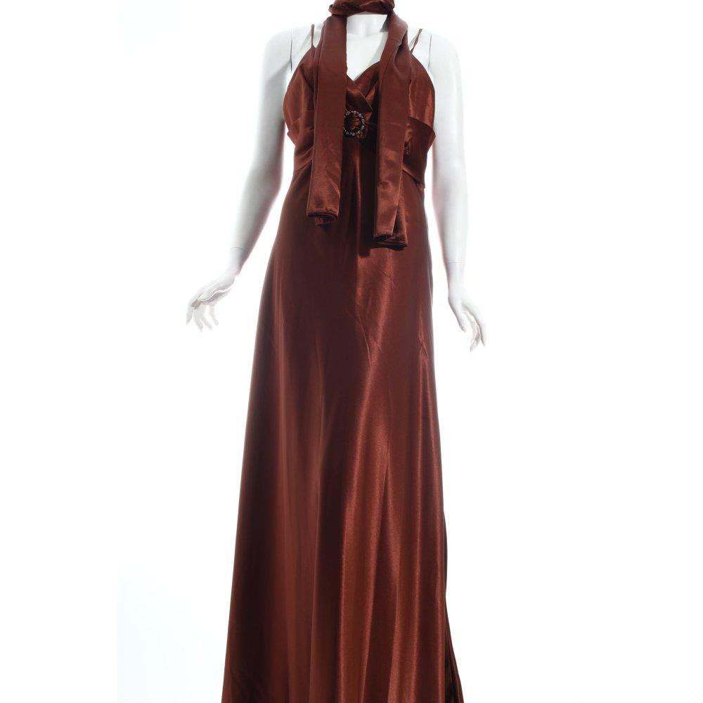 lissa abendkleid braun eleganz look damen gr de 42 kleid. Black Bedroom Furniture Sets. Home Design Ideas