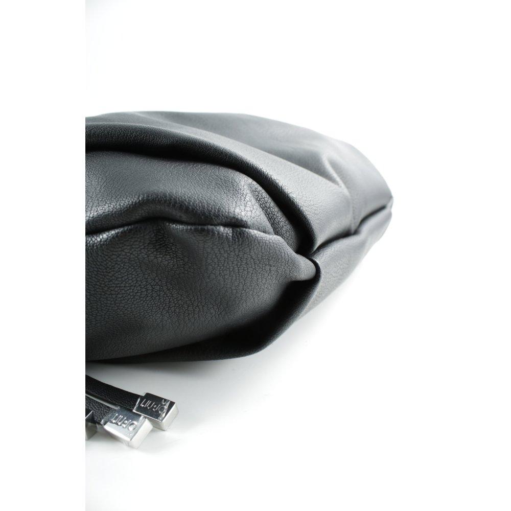 LIU JO Handtasche schwarz College Look Damen Tasche Bag