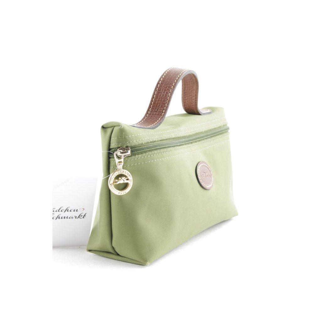 """18686c4d6406d """"kosmetiktasche"""" Mini Bag Longchamp Minitasche Grün Tasche Damen UpqLSzMVG"""