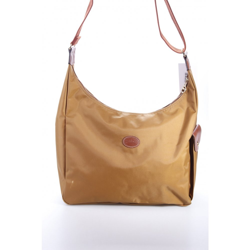 longchamp umh ngetasche le pliage damen braun tasche bag shoulder bag ebay. Black Bedroom Furniture Sets. Home Design Ideas