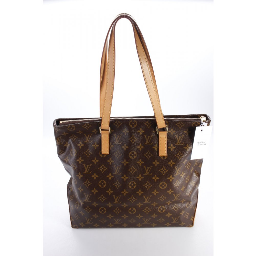 louis vuitton henkeltasche cabas mezzo monogram one size ebay. Black Bedroom Furniture Sets. Home Design Ideas