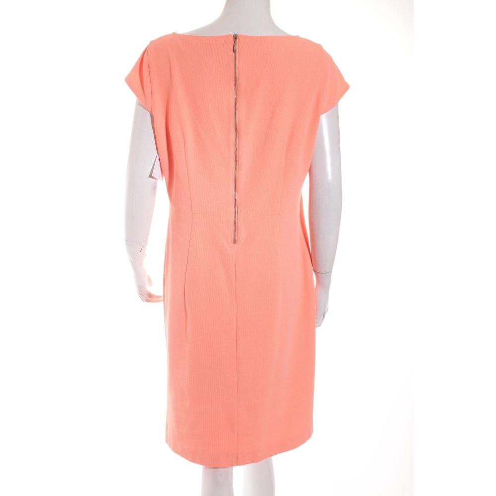 luisa cerano kleid apricot elegant damen gr de 42 dress ebay. Black Bedroom Furniture Sets. Home Design Ideas