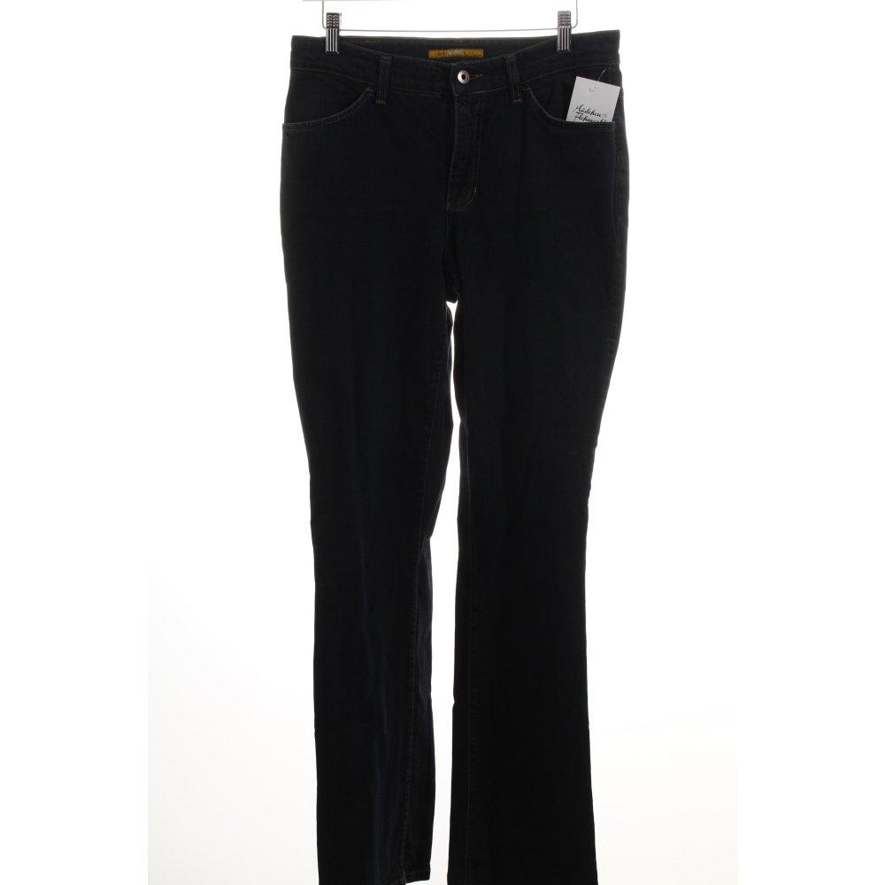 mac jeans boot cut jeans melanie dunkelblau damen gr de 40. Black Bedroom Furniture Sets. Home Design Ideas
