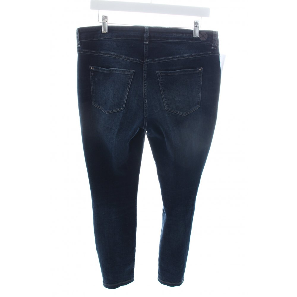 mac skinny jeans dream skinny zip authentic dark blue women s size uk 12 ebay. Black Bedroom Furniture Sets. Home Design Ideas
